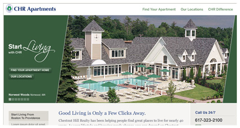 Chestnuthill Realty Redesign