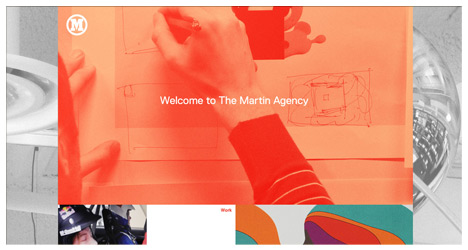 The Martin Agency Redesign